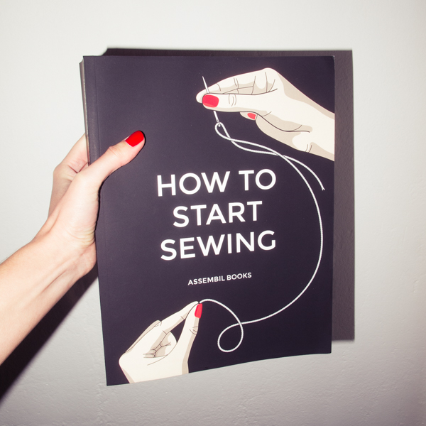 How To Start Sewing Book