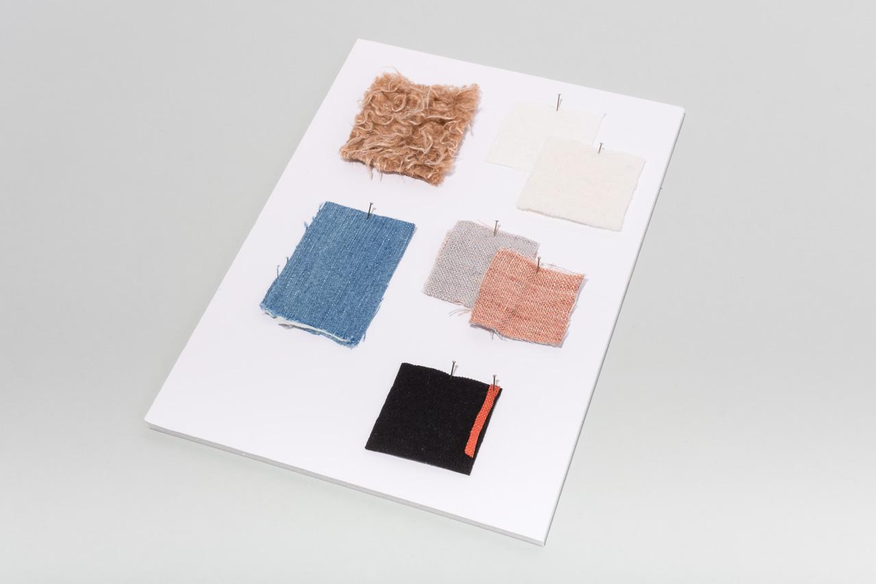 Assembil Blog: Mood Board 1. Fabric swatch board, Image 1.