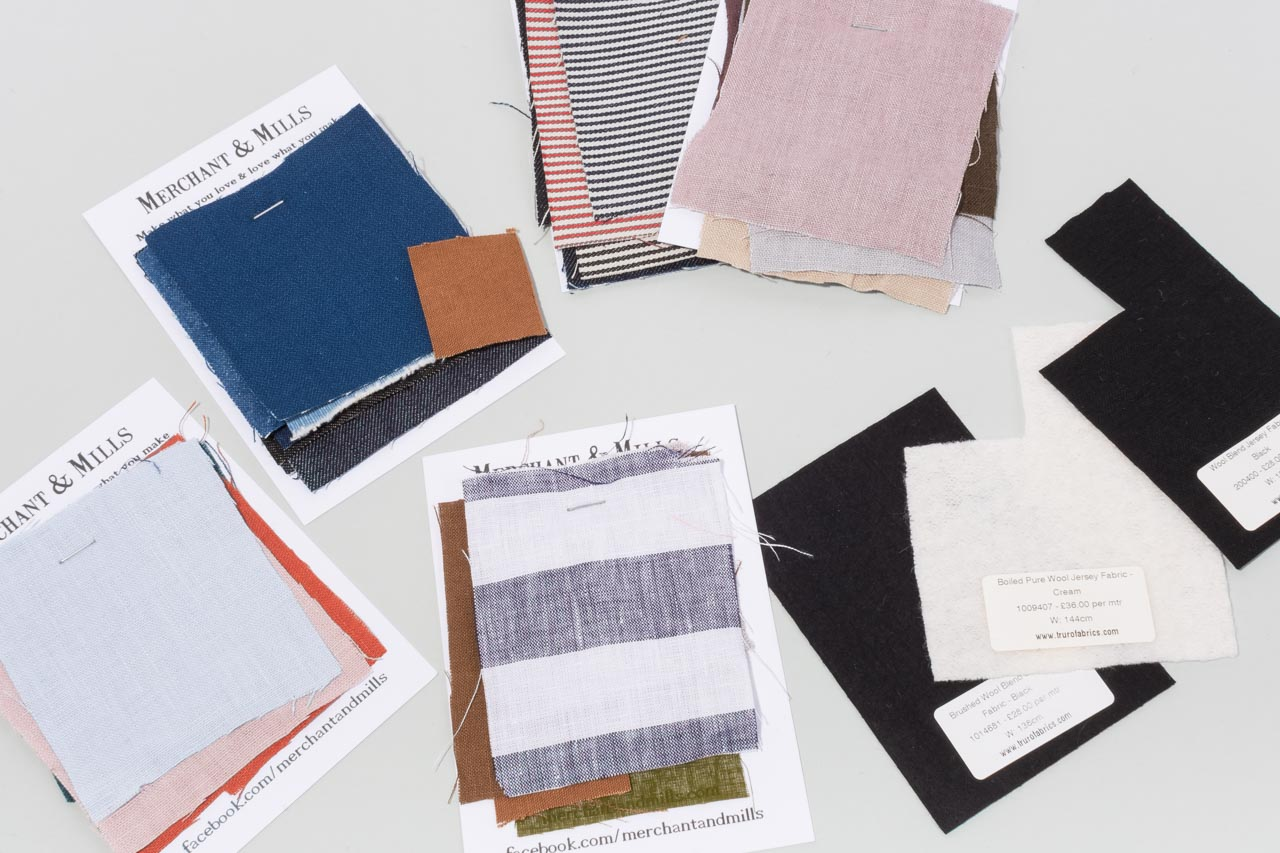 Assembil Blog: Mood Board 1. Fabric swatches, Image 2.